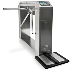 Botron B88015 Elite Complete Barcode Tester with Integrated S.S. Turnstile