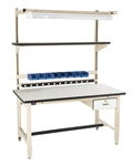 "Pro-Line BIB2 Bench In A Box-ESD Laminate Workbench Complete 30"" x 60"""