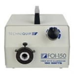 TechniQuip F150-1KXX-TQP FOI-150 PowerCube Fiber Optic Illuminator 150 Watt Hagogen 115VAC