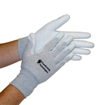 Transforming Technologies GL4500P ESD Nylon Palm Coated Inspection Gloves