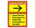 "ErgoMat Social Distancing & Safety Signs 24"" x 18"""