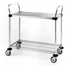 "Utility Cart 24"" x 36"" x 39"": Metro Industries: MW506"