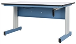 "IAC QV-1005802 All American Series Hand Crank Height Adjustable Workstation 30"" x 60"""