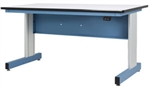 "IAC QV-1011822 All American Series Motorized Height Adjustable Workstation 30"" x 60"" ESD Laminate"