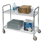 "Lakeside R1836CUC-2  36""x18"" Utility Cart with Wire Shelves"