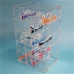 S-Curve SGD-15 Safety Glass Dispenser for 15 pairs of glasses