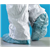 "MTI SHOC2B424 16"" Large Disposable Conductive Shoe Cover"