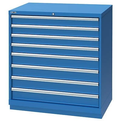Lista Xshs0900 0805 8 Drawer Counter Height Cabinet Shallow Depth 22 5