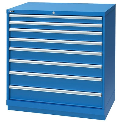 Lista XSHS0900-0807 8 Drawer Counter Height Cabinet. Shallow Depth 22.5   sc 1 st  Assembled Product Specialists Inc. & Lista Express Storage Cabinets. Lista Storage High density storage ...