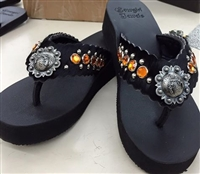 6d8aad977 Custom Hand-Made Leather Flip Flop with FREE Snap Button
