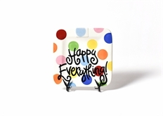 Happy Everything MINI Square Platter-7 Styles