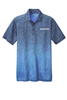 Graham Sport-Tek Ombre Heather Polo