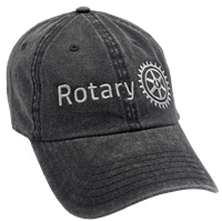 Stone Washed Cotton Twill Rotary Cap
