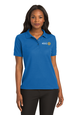 District 5520 Womens Poly Blend Polo (L500)