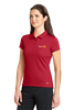 Nike Womens Dri-FIT Solid Icon Pique Modern Fit Polo