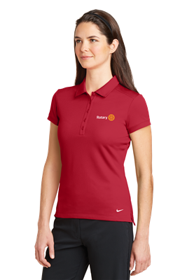 Nike Ladies Dri-FIT Solid Icon Pique Modern Fit Polo