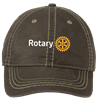 Port Authority Pigment Print Distressed Cap