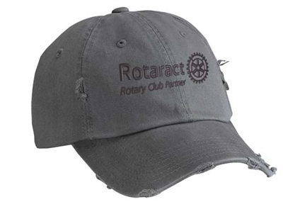 Distressed Rotaract Cap