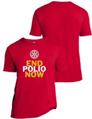 End Polio Now Tee