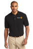 Port Authority Heavyweight Cotton Pique Polo