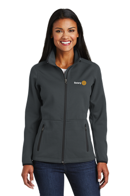 Port Authority Ladies Pique Fleece Jacket. L222
