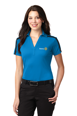 Port Authority Womens Performance Colorblock Polo