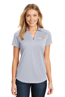 Port Authority Womens Digi Heather Polo