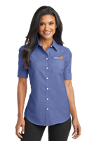 Port Authority Womens Short Sleeve Oxford Shirt