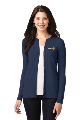 Port Authority Womens Concept Button-Front Cardigan