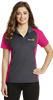 Polo- Ladies Colorblock Micropique