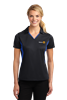Sport-Tek Womens Side Blocked Micropique Polo