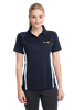 Polo- Ladies Sport Tek MicroMesh Colorblock