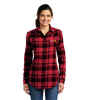 Port Authority Womens Plaid Flannel Shirt