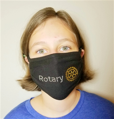 Rotary Bling Face Mask