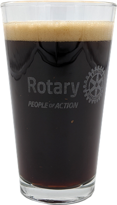 People of Action Pint Glass