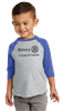Rabbit Skins Future Rotarian Baseball Tee