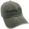 Stone Washed Cotton Twill Rotaract Cap