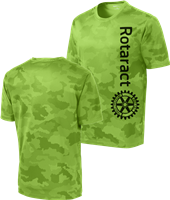Rotaract Camohex Mens Performance Tee