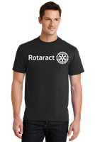 Rotaract Full Chest Print Tee