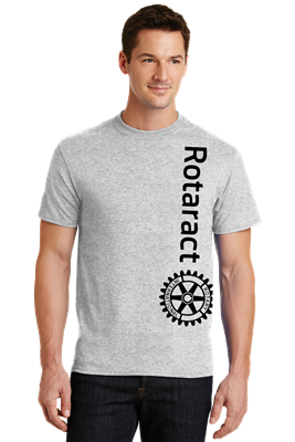 Rotaract Vertical Print Tee