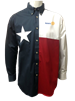 Tiger Hill Texas Flag Long Sleeve Twill Shirt