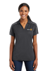Sport-Tek Womens Micropique Piped Polo