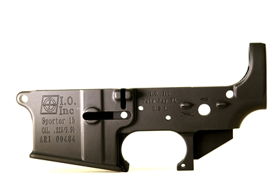 AR-15 Stripped Mil-Spec Lower Receiver