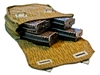 AK-47 Mag Pouch with Four 30rd AK Mags