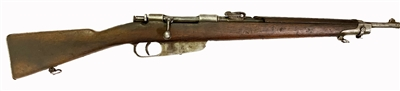 Carcano Model 1891 Carbine for Special Troops Cal. 6.5
