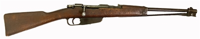 Carcano Model 1938 with Bayonet Cal. 7.35