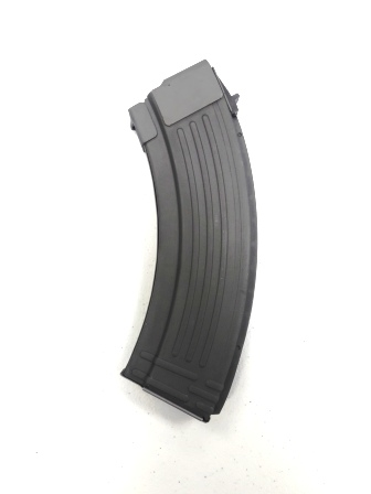 Korean 30rd Ribbed Steel AK-47 Mag - New Gray Parkerized