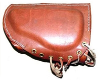 Cheek Piece, Leather