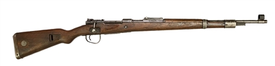 CZECH K98K 8MM MAUSER RIFLE dot 1945 (ETHIOPIA CONTRACT)