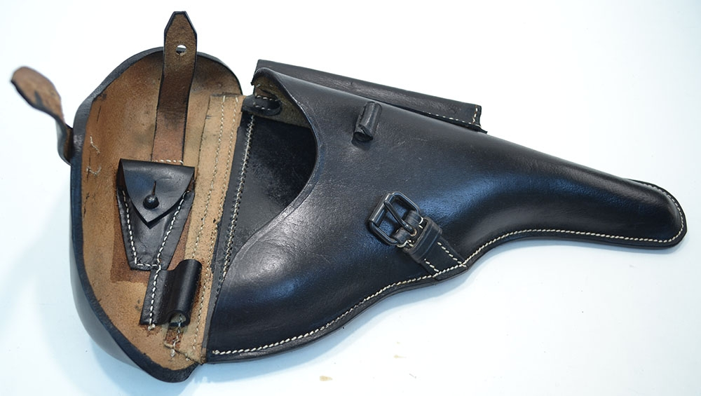 Holster, P 04 Navy Luger Black Reproduction